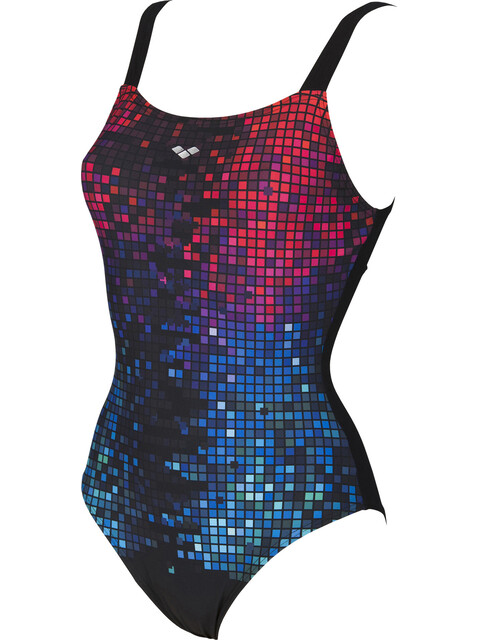 arena Opal Wing Back C-Cup Badpak Dames rood/blauw